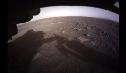 Estas son las primeras imágenes de Marte enviadas por Perseverance