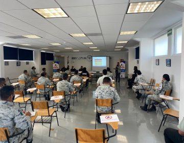 Capacitan a elementos de la Guardia Nacional en igualdad y no discriminación