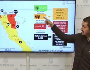Semáforo de BC cambiará de color el día lunes, según Pérez Rico