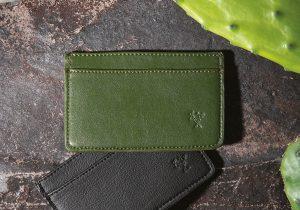 Cacto: carteras y tarjeteros elaborados con piel de nopal