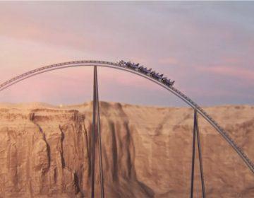 En la montaña rusa más 'extrema' del mundo se alcanzarán 250 kilómetros por hora