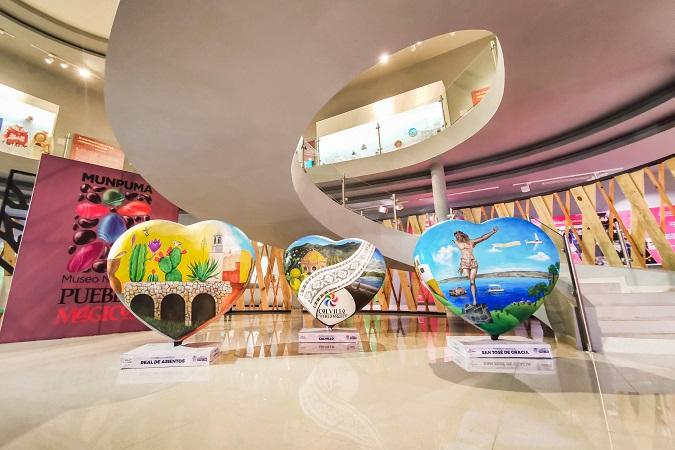Se presenta exposición Amor por Aguascalientes en el Museo Nacional de Pueblos Mágicos en Calvillo