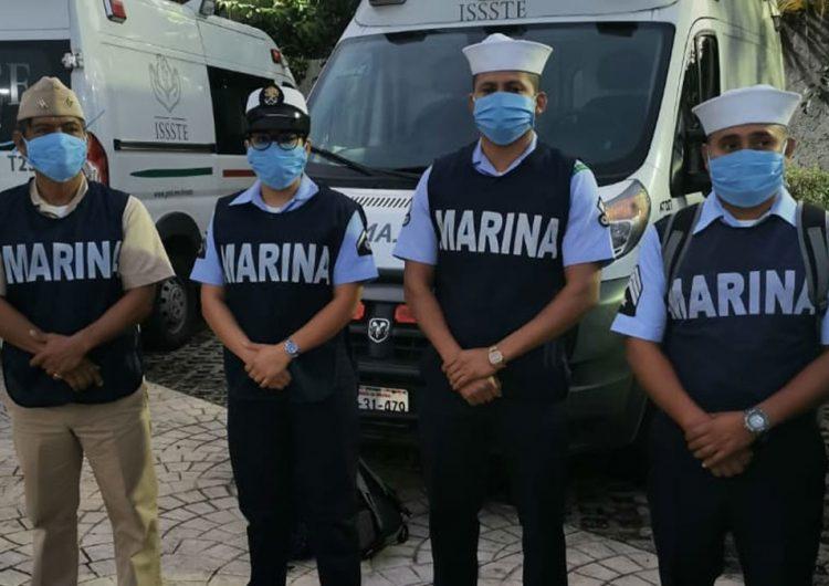 Destina Marina 138,000 elementos contra COVID e inseguridad