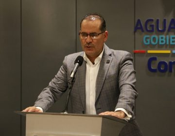 Se pronuncia gobernador de Aguascalientes a favor de la eliminación del fuero