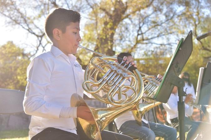 Presenta Orquesta Infantil de Jesús María su nuevo disco de forma virtual