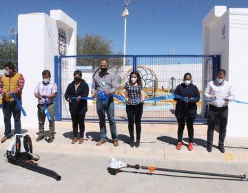 Rehabilitan parque recreativo en Jesús María