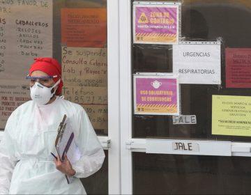 México suma 10,738 casos confirmados de COVID y 1,701 muertos