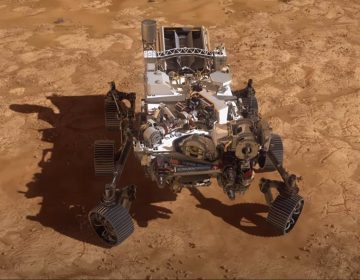 El rover Perseverance de la NASA aterriza en Marte