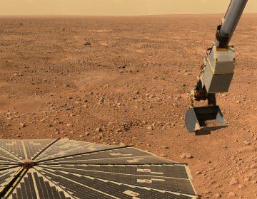 Descubren vapor de agua en la atmósfera de Marte