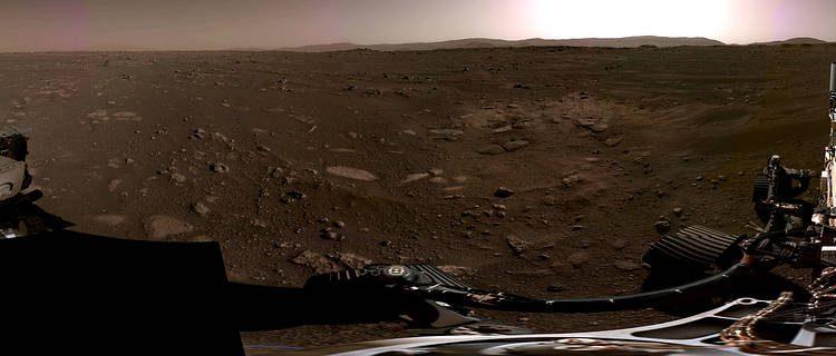 El astromóvil Perseverance revela el primer audio de Marte