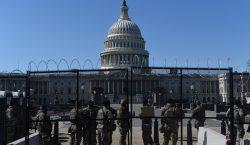 Policía del Capitolio solicita extender el despliegue de la Guardia…