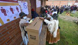 Elecciones Bolivia: oposición se perfila como favorita para conseguir las…