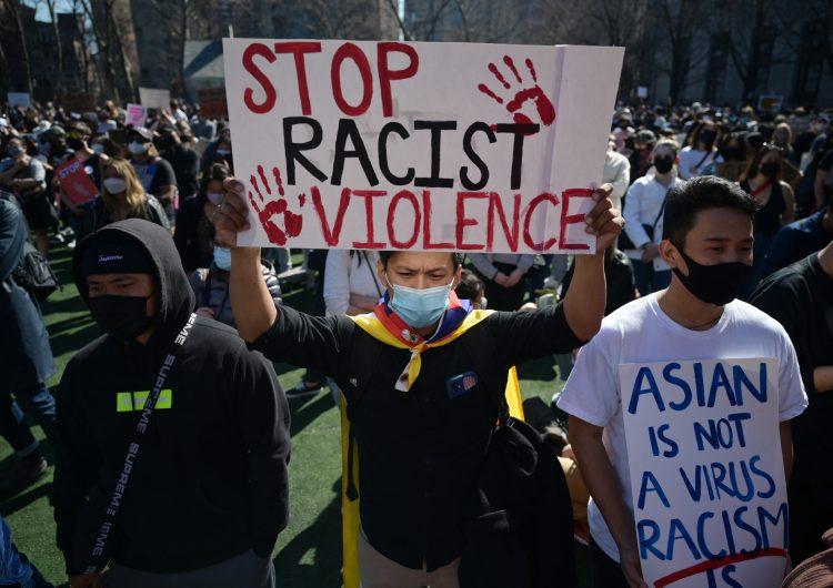 EU: tras ataque en spas, miles se manifiestan para denunciar el racismo contra los asiáticos