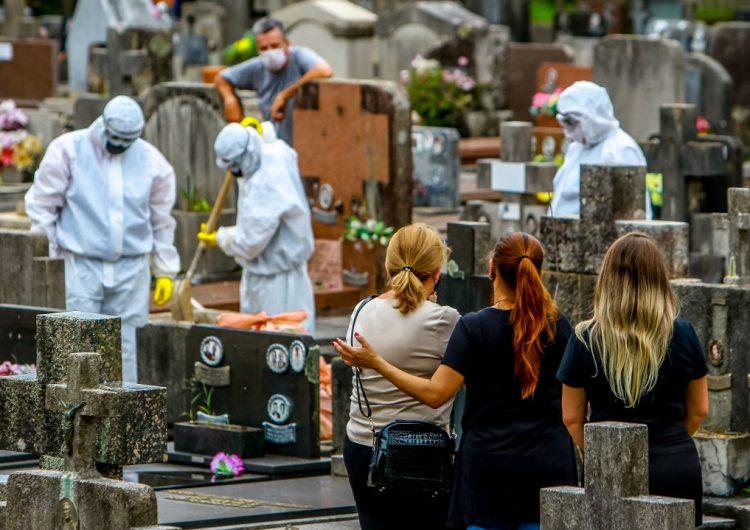 Brasil supera los 100 mil casos de COVID-19 en un solo día
