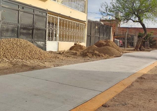 Entregan obras de infraestructura en San Antonio de los Horcones en Jesús María