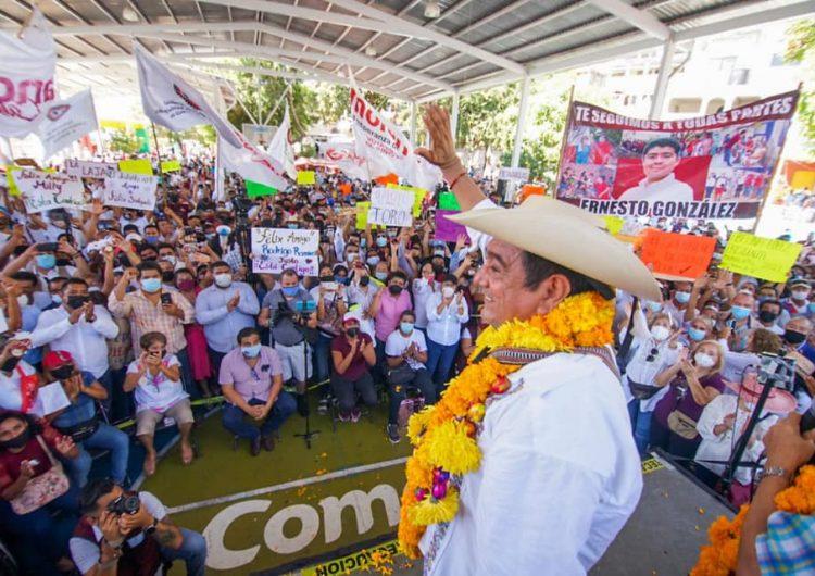 Baja el INE a Salgado y Morón de candidaturas a gobernador