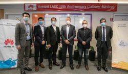 Gobierno de Jalisco reconoce a Huawei