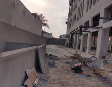 Muere joven albañil de 18 años tras caer de edificio de 7 pisos en Aguascalientes