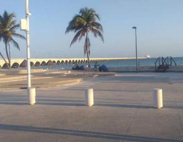 Cierran Malecón en Progreso en Semana Santa