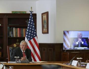 'No hemos sido vecinos perfectos el uno para el otro', dice Biden a AMLO en reunión virtual