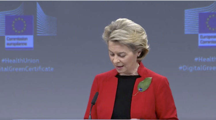 Comisión Europea propone certificados verdes digitales para restablecer la 'libertad de circulación'