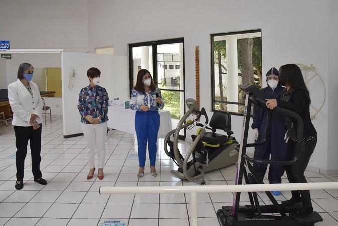 Ponen en marcha área de rehabilitación pulmonar para pacientes post-Covid en el DIF de Aguascalientes