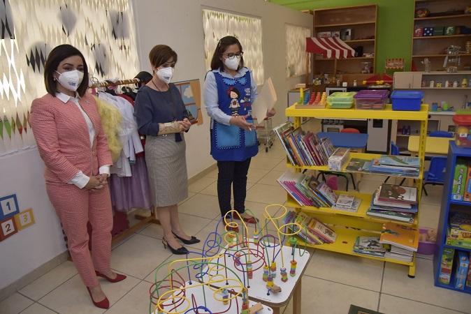 Arranca DIF Estatal programa de guardería para hijos de comerciantes ambulantes