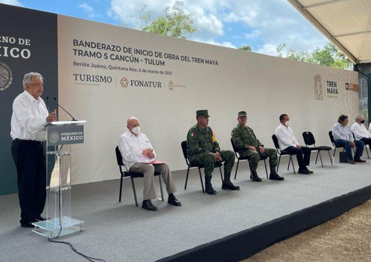 Tren Maya arranca construcción del Tramo 5 en Quintana Roo