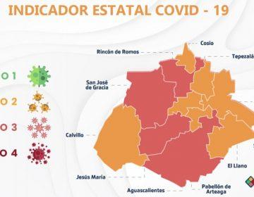 Pasan siete municipios al color amarillo del Indicador Estatal Covid