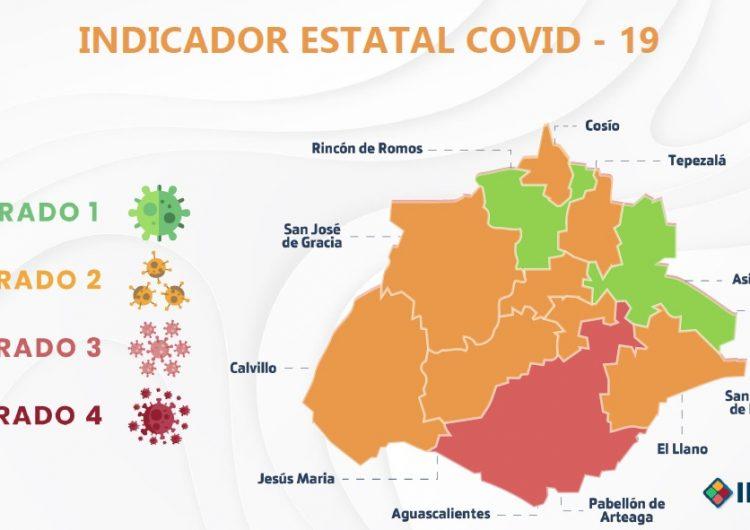 Asientos y Rincón de Romos, primeros municipios en color verde en Aguascalientes