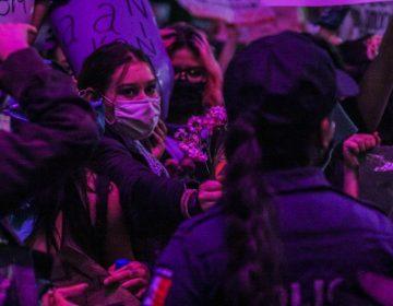 Asegura gobierno que actuación policial fue para defender integridad de manifestantes