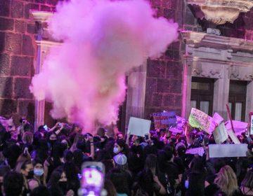 Presentan cargos contra mujeres detenidas en manifestación en Aguascalientes