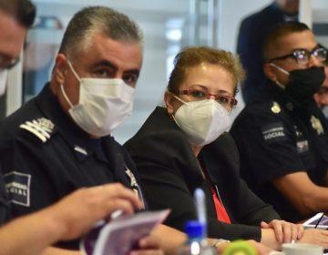 Se reúne alcaldesa de Aguascalientes con policías municipales