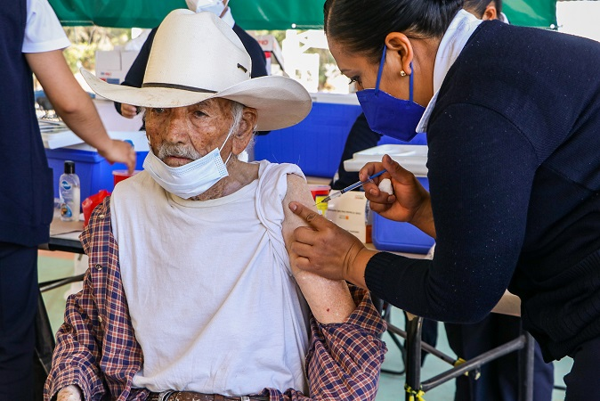 Concluyó vacunación contra el Covid-19 en Calvillo