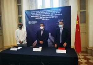 Acuerdan colaboración INAH y la Asociación China Península de Yucatán