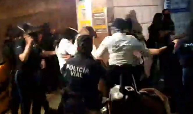 Abre CDHEA queja de oficio tras manifestación #8M en Aguascalientes