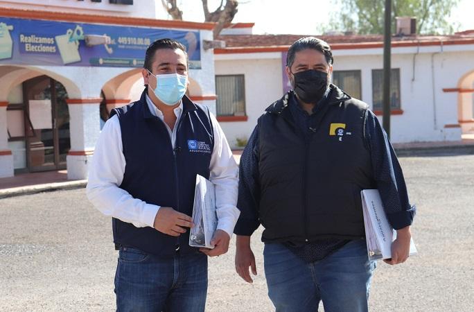 Registran ante el IEE a candidatos de alianza PAN-PRD en Aguascalientes