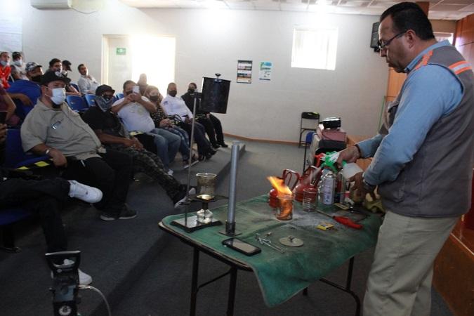 Capacita Protección Civil a centros de rehabilitación en Jesús María