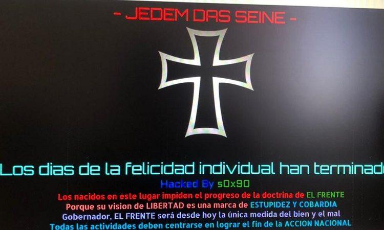 Hackean página web del Instituto Estatal Electoral de Aguascalientes