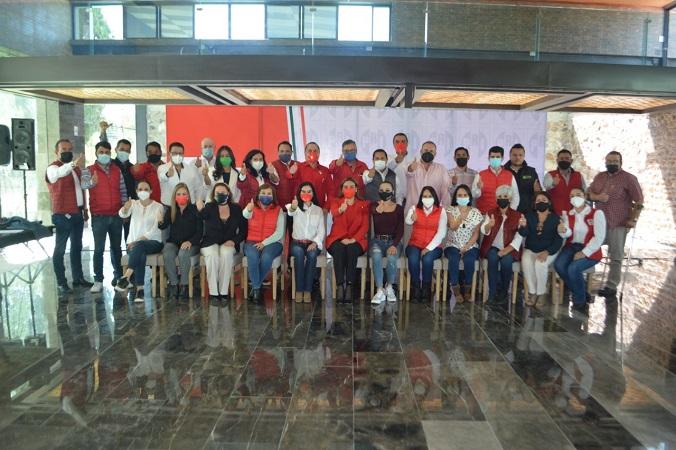 Registra PRI a sus candidatos a diputados locales en Aguascalientes
