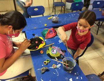Llevan talleres de arte y cultura a Valladolid, Jesús María