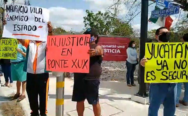Ordena juez a Vila y Renán parar desalojo de Ponte Xux