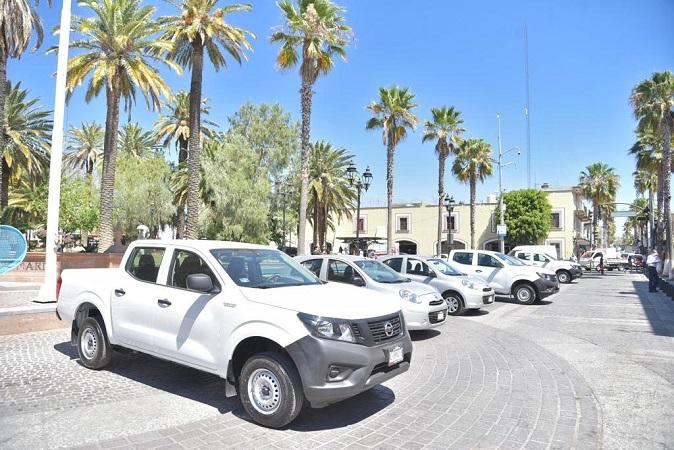 Renuevan parque vehicular de dependencias municipales de Jesús María