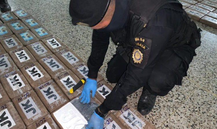 Guatemala: incautan 394 kilos de cocaína en lancha interceptada en aguas del Pacífico