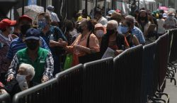 México rebasa las 600,000 aplicaciones de esquemas completos de vacuna…
