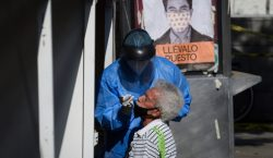 México registra 2,112,508 casos confirmados de COVID-19 y 188,866 muertos