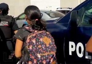 Localizan policías a adolescente extraviada cuando se dirigía a Zacatecas en un taxi
