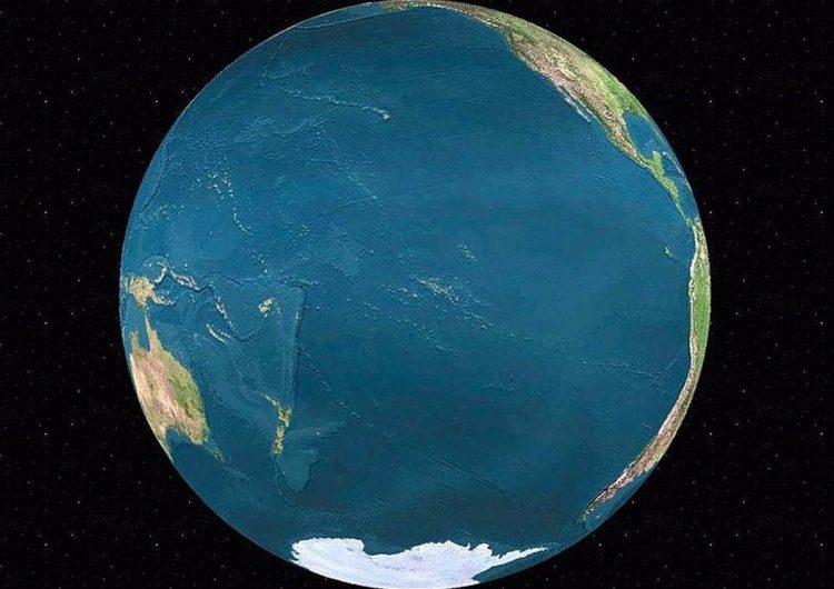 Una mitad de la Tierra se enfría más deprisa