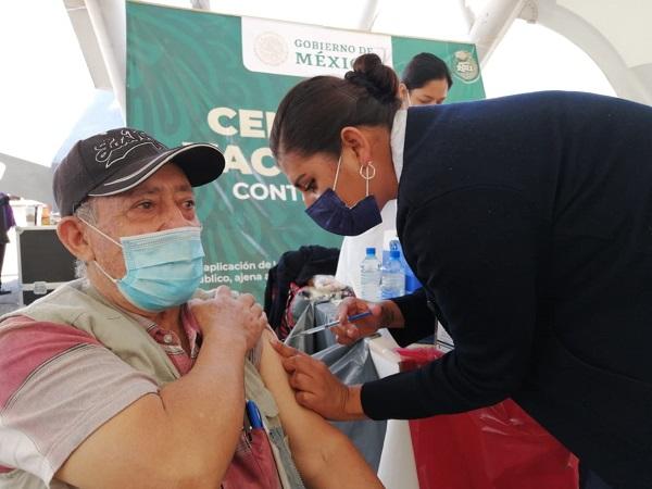 Avance del 30% en vacunación de adultos mayores en el municipio de Aguascalientes