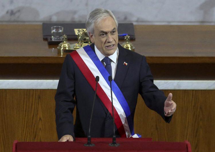 Presidente chileno Sebastian Piñera es acusado ante Corte Internacional por crímenes de lesa humanidad